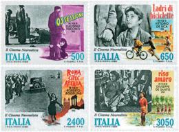 Ref. 42304 * NEW *  - ITALY . 1988. SURREALISTIC ITALIAN CINEMA. EL CINE NEOREALISTA ITALIANO - 6. 1946-.. República