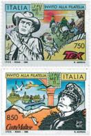 Ref. 124677 * NEW *  - ITALY . 1996. INVITATION TO PHILATELY. INVITACION A LA FILATELIA - 6. 1946-.. República