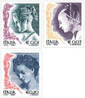 Ref. 88488 * NEW *  - ITALY . 2002. WOMEN IN ARTS. LA MUJER EN EL ARTE - 2001-10:  Nuevos