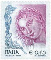 Ref. 139632 * NEW *  - ITALY . 2004. WOMEN IN ARTS. LA MUJER EN EL ARTE - 6. 1946-.. República