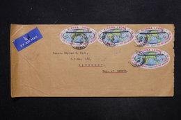 SIERRA LEONE - Enveloppe Pour La Gambie En 1970 , Affranchissement Plaisant - L 27351 - Sierra Leone (1961-...)