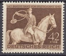 DR 854, Postfrisch **, Das Braune Band, 1943 - Alemania