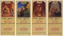 Ref. 328640 * NEW *  - ISRAEL . 1999. 1999 FESTIVAL STAMPS. SELLOS POR LAS FIESTAS DE 1999 - Israel