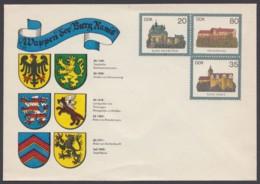 """U 1 C 2 """"Wappen Der Burg Ranis"""" - DDR"""