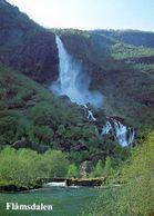 1 AK Norwegen * Rjoandefossen - Ein Wasserfall Fallhöhe 164 M Im Flåm Tal * - Norwegen