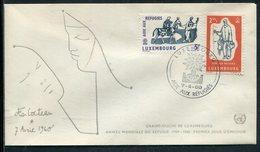 Luxemburg / 1960 / Mi. 618/619 FDC (11470) - FDC