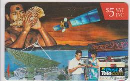 #05 - FIJI-02 - SHELL - TELEPHONE - SATELITTE - Fiji
