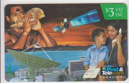 #05 - FIJI-03 - SHELL - TELEPHONE - SATELITTE - Fiji