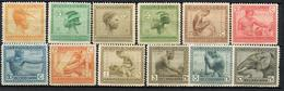 CONGO BELGE YT 106/117* - 1894-1923 Mols: Ungebraucht