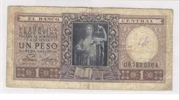 Billet 1 Peso Argentine 1947 - Etat Moyen - Argentina