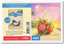 Christmas Island 2010, Postfris MNH, Christmas, Birds - Christmaseiland