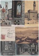 Firenze: Lotto 100 Cartoline Formato Piccolo - Firenze