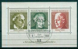 BRD 1969 / MiNr.   Block 5    O / Used  (s342) - [7] Federal Republic