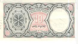 Billet 10 Piastres République Arabe Unie / United Arab Republic - 1961 - Très Bon état - Billets