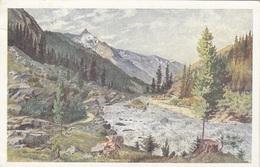 KRIMMLER ACHENTAL (Salzburg) - Blick Auf Die Dreiherrenspitze, Künstlerkarte Gelaufen 1928, Gute Erhaltung - Österreich