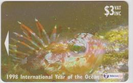 #05 - FIJI-07 - 1998 INTERNATIONAL YEAR OF THE OCEAN - Fiji