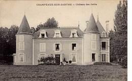 61 - CHAMPEAUX-sur-SARTHE - Château Des Jaries - - Frankrijk