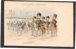 BIANCO - Les Souverains à L'Exposition - Shah De Perse à Cheval - Autres Illustrateurs