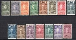 CONGO BELGE YT 135/149* - 1894-1923 Mols: Ungebraucht