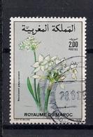 YT N° 1071 - Oblitéré - Fleurs - Marruecos (1956-...)