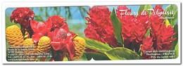 Polynesië 2012, Postfris MNH, Flowers ( Booklet ) - Boekjes