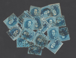 Médaillon Dentelés (15) - Beau Lot De 42 Timbres - Variété(s) / Nuances..... - 1863-1864 Medallions (13/16)