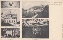 DÜRRENBERG BEI HALLEIN (Salzburg) - K.K. Salzbergwerk, 5 Bilderkarte, Karte Ungel.190?, Gute Erhaltung - Österreich