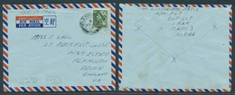 KOREA. 1955 (27 Feb). Australian Forces. Field PO 790 Air Fkd Env To UK / Devon. Irar / Bapo 3$ Addressed To Third Count - Corea (...-1945)