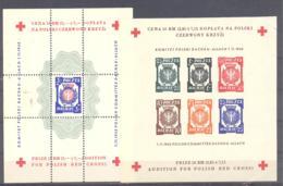 Polen Dachau  Block **/*  Polish Committee Dachau - Allach - Unused Stamps