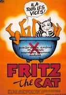 Affiche De Film - FRITZ The CAT - Bande Dessinée - Robert Crumb - Chat Grivois - Posters On Cards