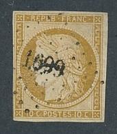 """N-401: FRANCE: Lot  """"CERES"""" Avec N°1 Obl Pc 1699 (ind19) - 1849-1850 Ceres"""