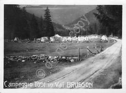 Val Brusson Fotografia Campeggio Franco Tosi Di Legnano Anni '50 - Foto