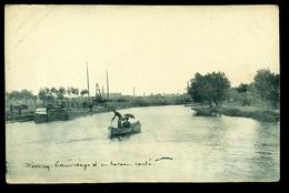 PHOTO  WERVICQ SUD  SAUVETAGE D UN BATEAU COULE En  1914     W27 - France