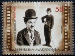 Macedonia 2014 -125 Years Anniversary Charlie Chaplin, Actor, Cinema, Movie, MNH - Macédoine