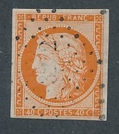 """N-404: FRANCE: Lot  """"CERES"""" Avec N°5 Obl P Chiffres  Réparé à Droite, Beau D'aspect - 1849-1850 Ceres"""