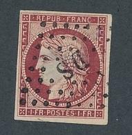 """N-405: FRANCE: Lot  """"CERES"""" Avec N°6 Obl DS Clair Important Mais TB D'aspect - 1849-1850 Cérès"""