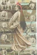 Magnifique PUZZLE De 10 CPA  - Les Présidents De La République   (78 ASO) - People