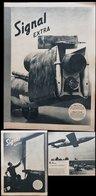Propaganda - Signal Militär Heft Extra Niederländisch Von 1944, Illustriert , Teils Farbig, Soldaten, V1 Rakete, Reich - Briefe U. Dokumente