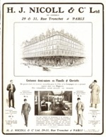 "PUB VETEMENTS   "" NICOLL & C° Ltd ""  1908 ( 1 ) - Other"