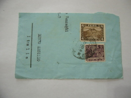 FRANCOBOLLI PERù 1933  SU FRAMMENTO BUSTO ARSIZIO VARESE - Perù