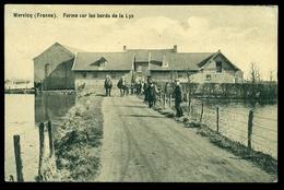 CPA  WERVICQ SUD   FERME SUR LES BORDS DE LA LYS      W27 - France