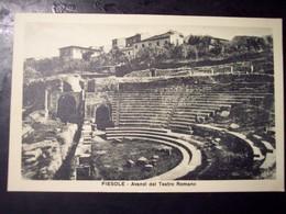 Fiesole (Firenze): Avanzi Del Teatro Romano. Cart. Fp Inizio '900 - Firenze
