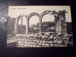 Fiesole (Firenze): Terme Romane. Cartolina Fp Inizio '900 - Firenze