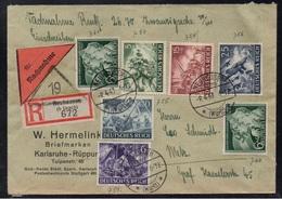 NEUHAUSEN - ALLEMAGNE - III REICH / 1943 LETTRE  CONTRE REMBOURSEMENT POUR METZ - NACHNAHME (ref LE3372) - Lettres & Documents