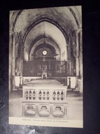 Fiesole (Firenze): Interno Della Chiesa Di S. Francesco. Cartolina Fp Inizio '900 - Firenze