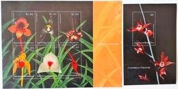 Antigua&Barbuda 2001**Mi.3491-96 + Bl.506. Orchids ,MNH[5;47] - Orchideen