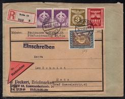 BERLIN - ALLEMAGNE - III REICH / 1943 LETTRE  CONTRE REMBOURSEMENT POUR METZ - NACHNAHME (ref LE3376) - Lettres & Documents