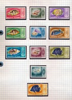 REPUBLIC OF MALADIVES 11 STAMPS NEW NEUF NIEUW - Maldivas (1965-...)