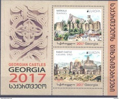 2017. Georgia, Europa 2017, S/s, Mint/** - Georgië