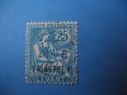 Perforé  Perfin  Levant ,   Perforation :   CL5   à Voir - Levant (1885-1946)